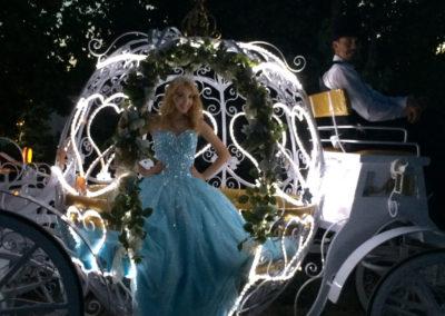 Cinderella Carriage Light Up Night